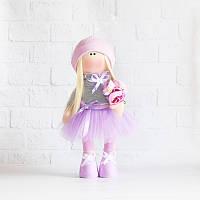 Текстильная кукла ручная работа. Вилена