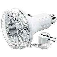 Фонарь лампа Yajia 1892 L, 10+1LED(фонарь лампочка)