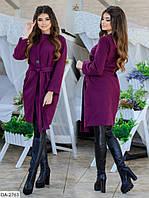 """Пальто женское кашемировое мод.  745 (42, 44, 46) """"VOJELAVI"""" недорого от прямого поставщика"""