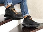 Мужские зимние кроссовки Reebok (черные), фото 2