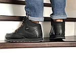 Мужские зимние кроссовки Reebok (черные), фото 4