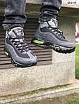 Мужские зимние кроссовки Nike Air Max 95 Sneakerboot (черно/зеленые) ТЕРМО, фото 2