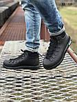 Зимние ботинки Native The Fitzsimmons Black (черные) ТЕРМО, фото 2