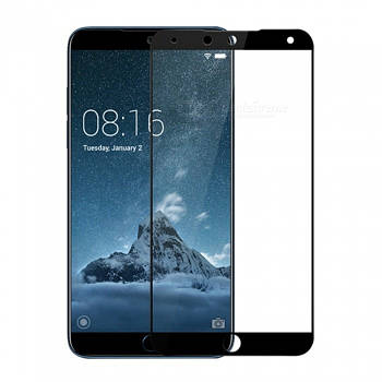 3D стекло для Meizu 15 Plus Черное - Full Cover