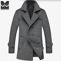 Мужское весеннее пальто. Мужское пальто осень-зима. Модель М33 cfeaac7715afb