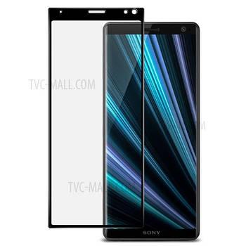 3D стекло для Sony Xperia XA3 Черное - Full Cover