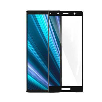 3D стекло для Sony Xperia XZ2 Черное - Full Cover