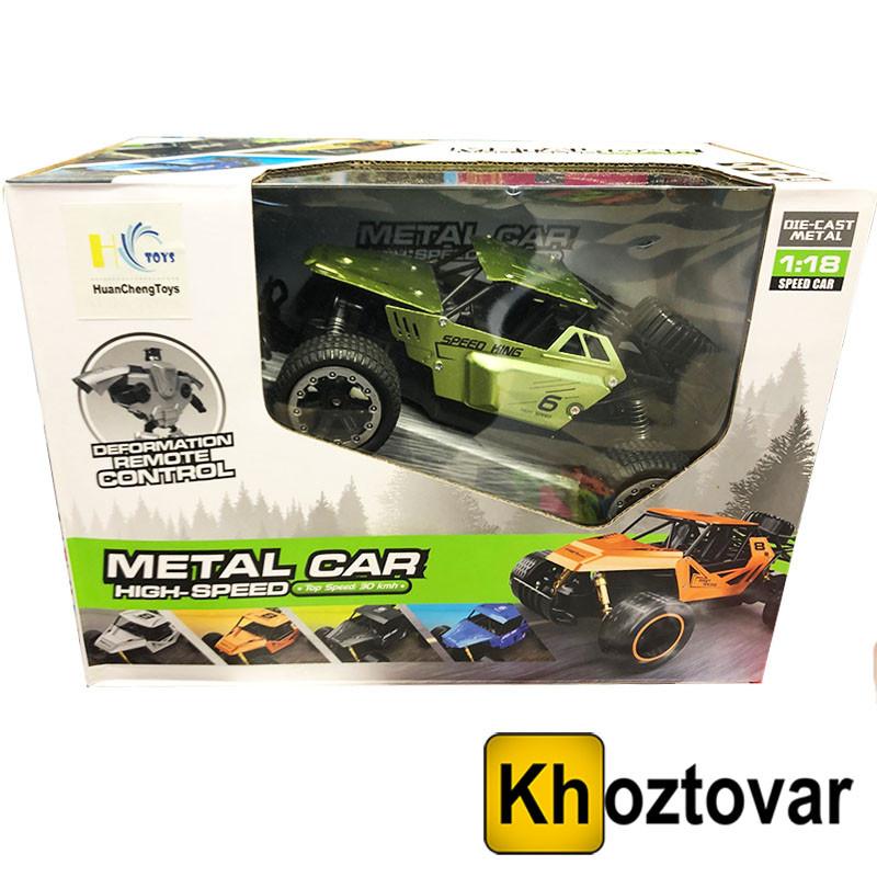 Машинка на радиоуправлени Metal car Speed king   1:18