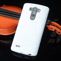 Силіконовий чехол Duotone для LG G4s Dual H734 білий, фото 1