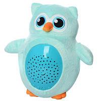 Ночник-проектор Сова Голубой (SA131-OWL2)