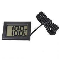 Термометр цифровой с выносным датчиком (2xLR44)