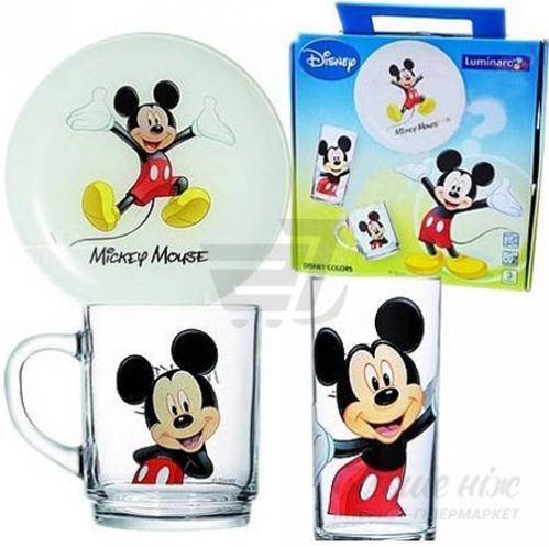 Набор детской посуды Disney Mickey Colors 3 предмета H5320