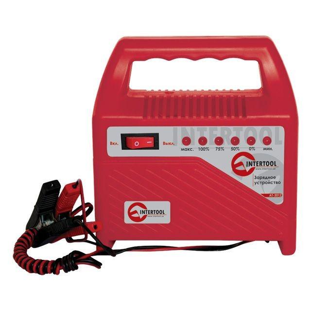 ✅ Зарядное устройство для автомобильного аккумулятора INTERTOOL AT-3012