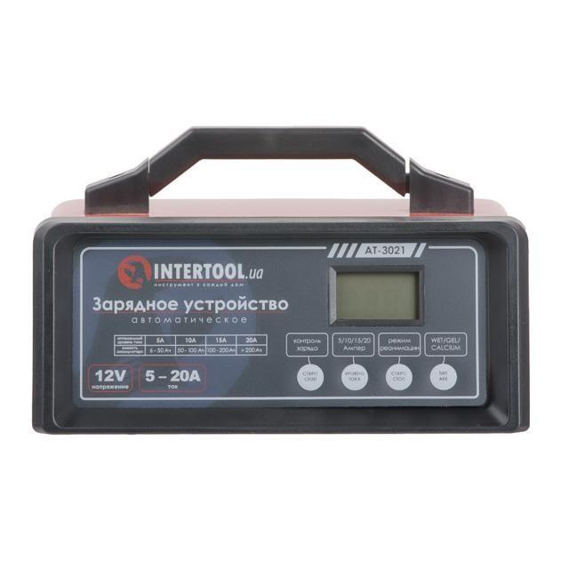 ✅ Зарядное устройство для автомобильного аккумулятора 12В, 5/10/15/20А, 230В, режим реанимации, десульфатации