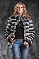 Шуба из шиншиллы Natural chinchilla fur coats jackets, фото 1