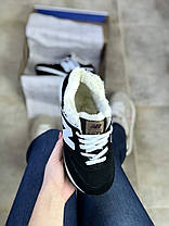 Женские зимние кроссовки New Balance 574 с мехом, фото 2
