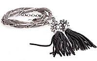 Женская цепочка на платье