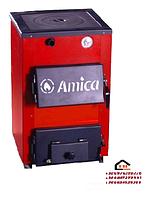Amica Optima (Амика Оптима) стальной котел с чугунной плитой мощностью 18 кВт