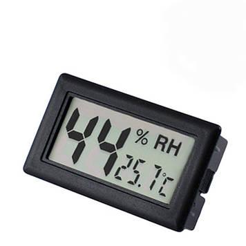 Термогигрометр Plymex WSD-12A Черный (1em_003365)