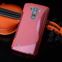 Силіконовий чехол Duotone для LG G4s Dual H734 рожевий, фото 1