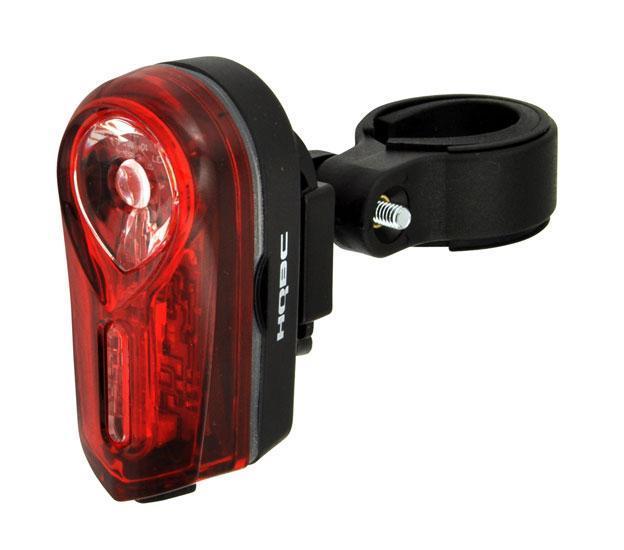 Світло заднє HQBC LINEA 0,5W LED 2 ф-ції чорний