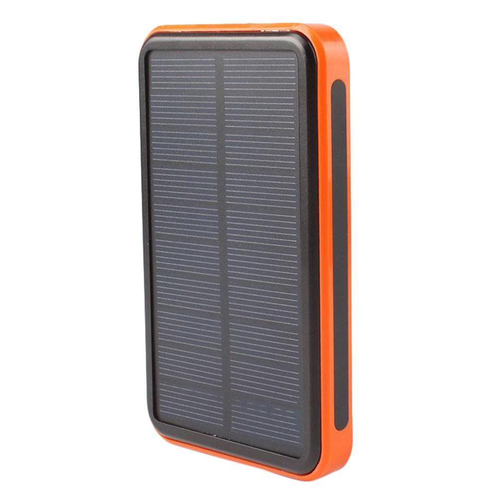 Внешний аккумулятор Solar 20000 mah на солнечной батарее Оранжевый (hub_tUwG74738)