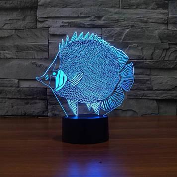 Нічник 3D Kronos Top Риба (stet_1283 (L293))