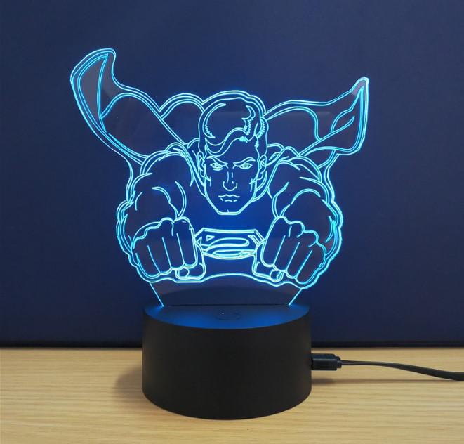 Ночник 3D Kronos Top Superman (stet_875)