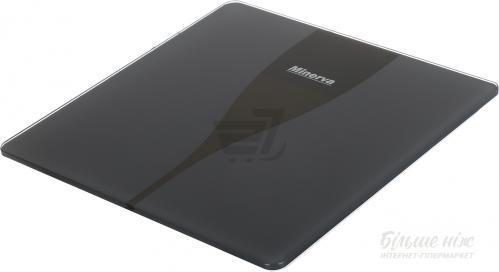 Весы напольные Minerva Ultra Black B31E