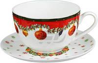 Чашка с блюдцем Новогодняя коллекция 250 мл 985-012 Lefard