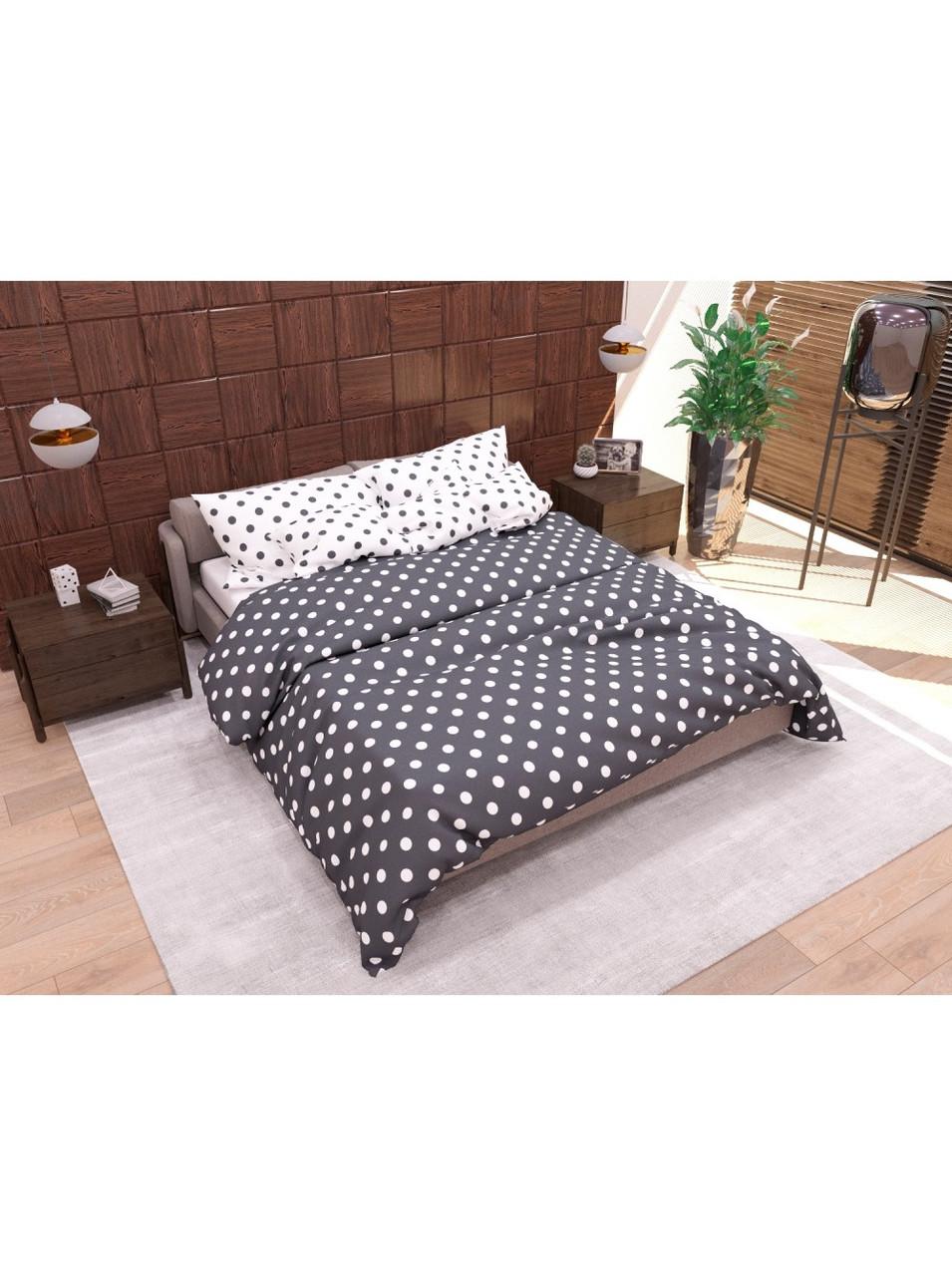 Комплект постельного белья бязь Горошек