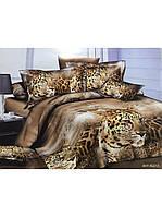 Комплект постельного белья из ранфорс Леопарды