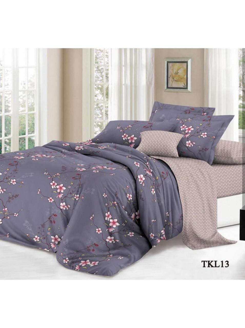 Комплект постельного белья бязь на резинке Орхидея