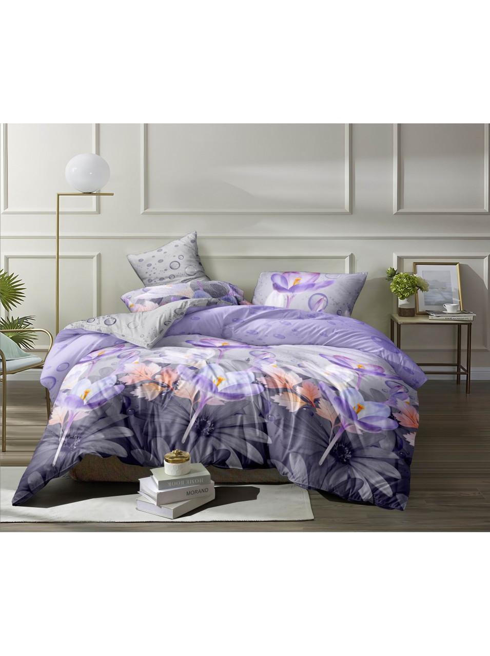 Комплект постельного белья полиэстер Brown
