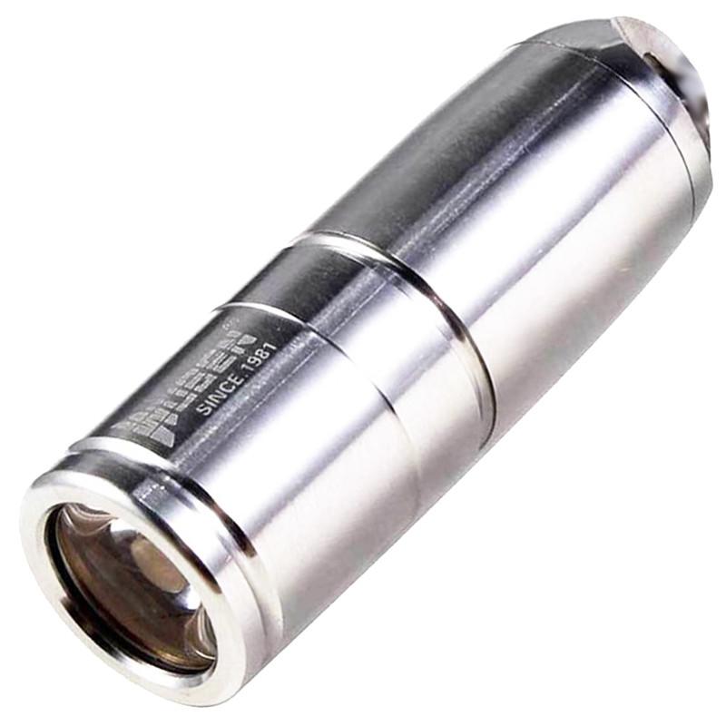 Ліхтар Wuben G340 (Cree XP-G2, 130 люмен, 2 режими, USB) з ланцюжком, нержавіюча сталь