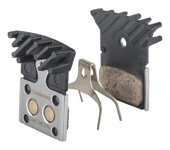 Гальмівні колодки L04C+радіатор, метал