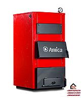 Стальной твердотопливный котел длительного горения Амика Солид 23 кВт (Amica Solid)