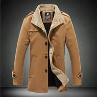 Мужское демисезонное пальто. Модель 508. , фото 3