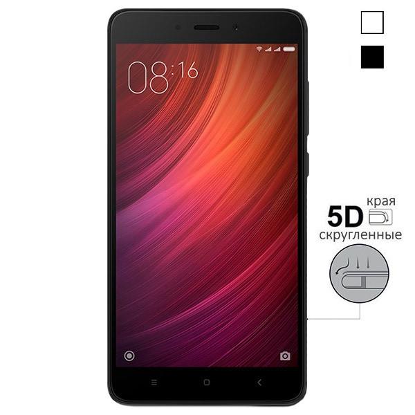 5D стекло Xiaomi Redmi Note 4 – Скругленные края