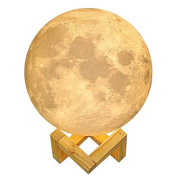 Настільний світильник Місяць Magic 3D Moon Light Touch Control 15 см Moonlamp (200864)