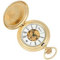 Карманные золотые часы
