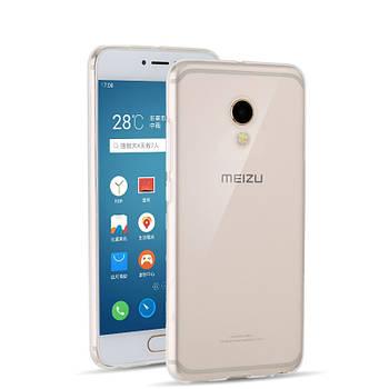 Ультратонкий силиконовый чехол Meizu MX6