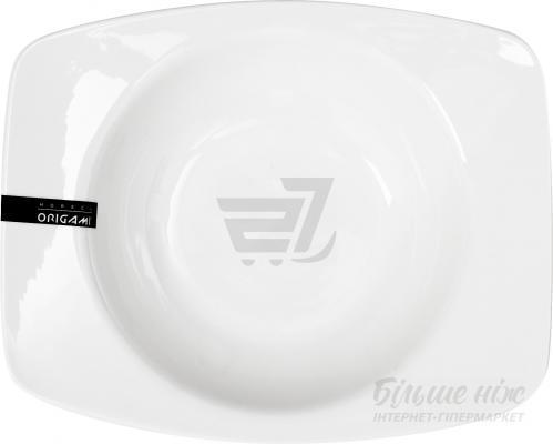 Тарелка глубокая прямоугольная RIM 700 мл BA0122