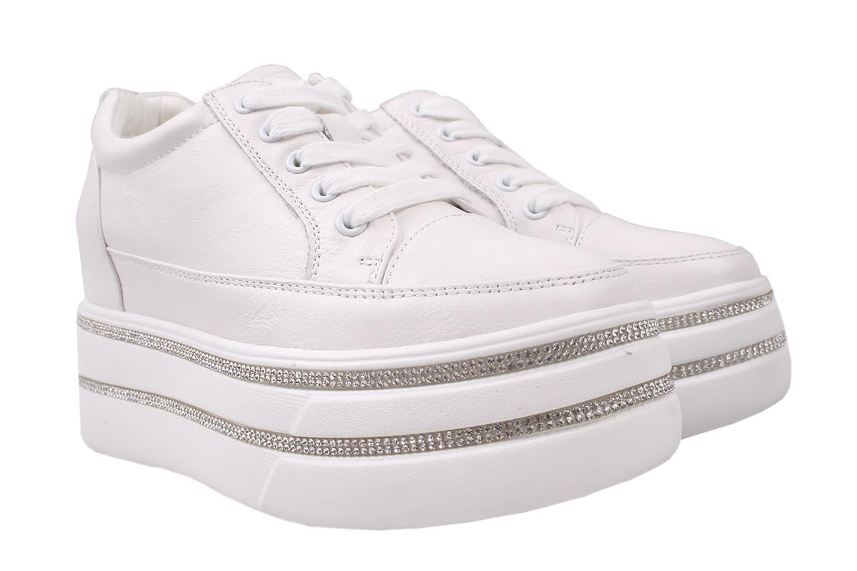 Туфли женские Berkonty натуральная кожа, цвет белый, размер: 36-40