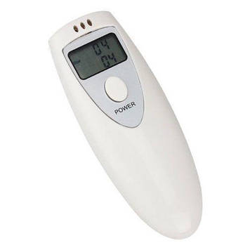 Алкотестер для вимірювання рівня алкогольного сп'яніння Білий (863284466)