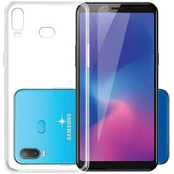 Чехол Samsung Galaxy A6s – Ультратонкий