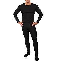 Комплект термобелья мужской (термофутболка + термоштаны) Ranger Superior (р.XL), черный
