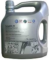 Моторное масло синтетика VAG VW Long Life III 5w30 5л