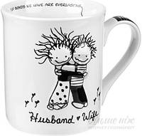 Чашка Муж и жена 450 мл Enesco