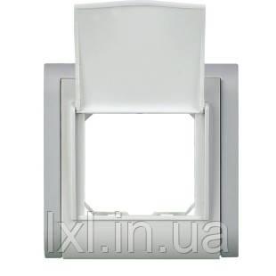 SIRIUS Рамка 1 место с крышкой квадратная